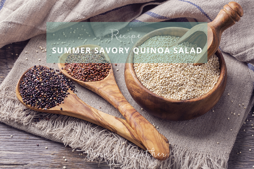 Summer Savory Quinoa Salad