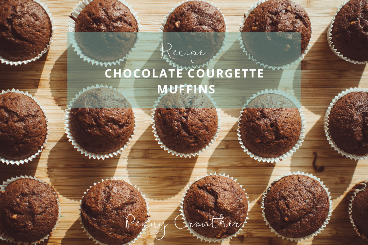 Penny Crowther Chocolate Courgette Muffins